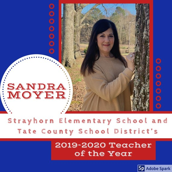 Sandra Moyer - Teacher of the Year